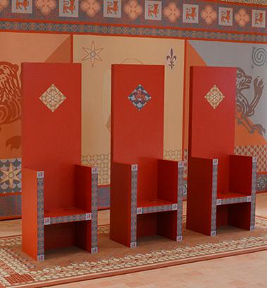Les sièges du manoir