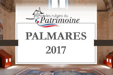 Lauréat du concours Rubans du Patrimoine 2017