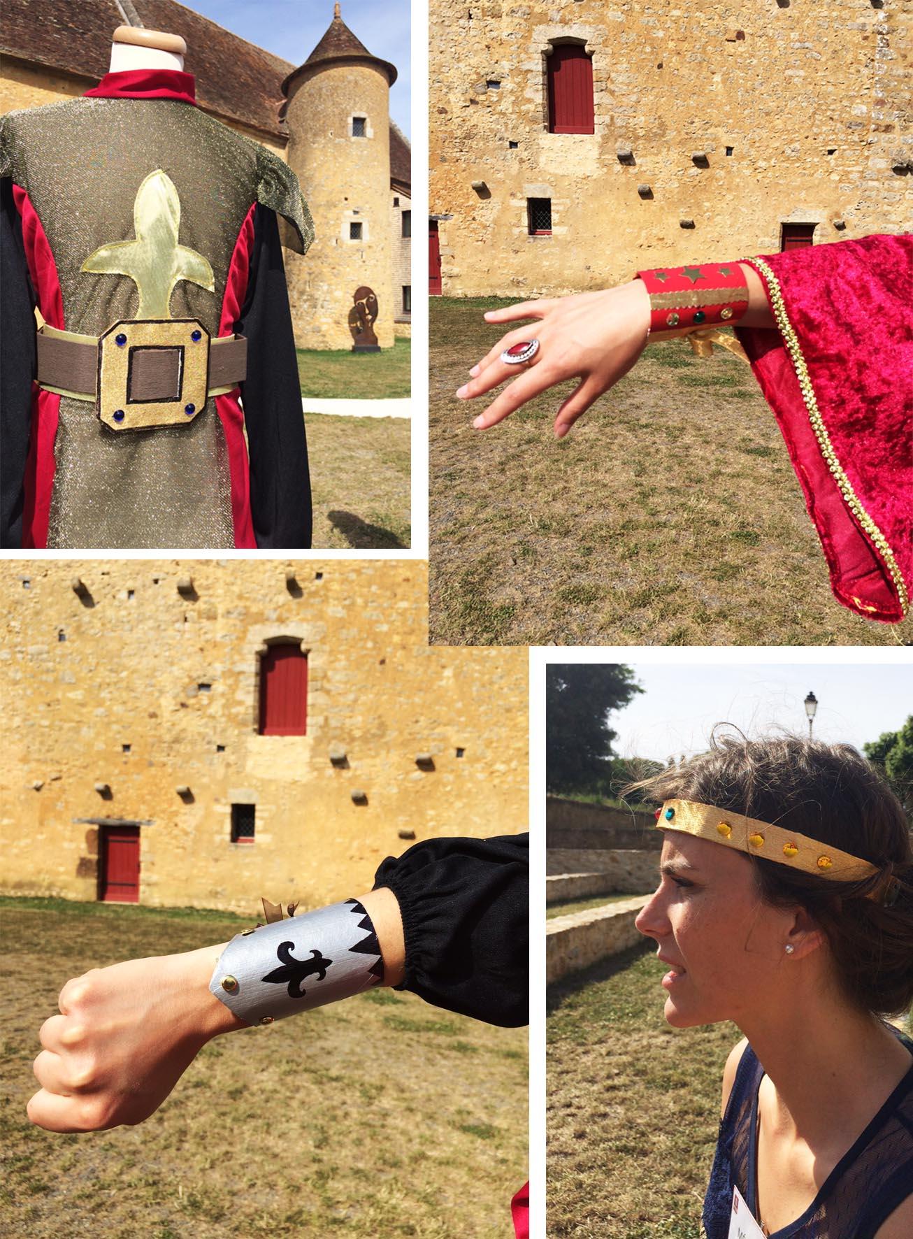 Accessoires du Moyen Age