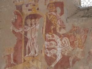 Fresques eglise st hilaire asnieres