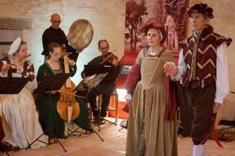 Musique et danses médiévales au Manoir!