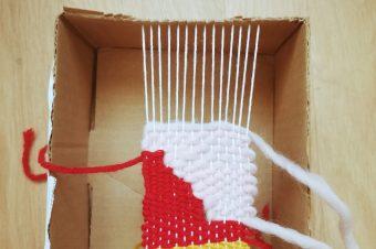 Le Manoir à la maison : atelier tissage