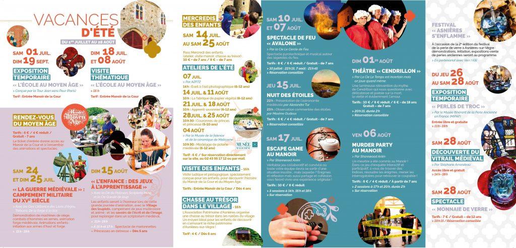 MdLC - Programme estival 2021