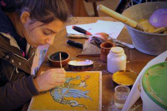 Atelier fresques médiévales