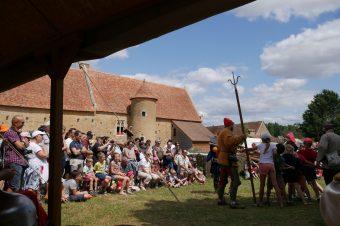 Rendez-vous du Moyen Âge : campement militaire du XVe